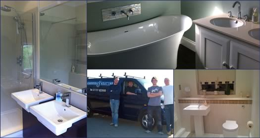 Bathrooms by local plumbers Homewood Heating, Redhill, Surrey